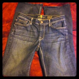 7 for all mankind mid rise jeans Size 30